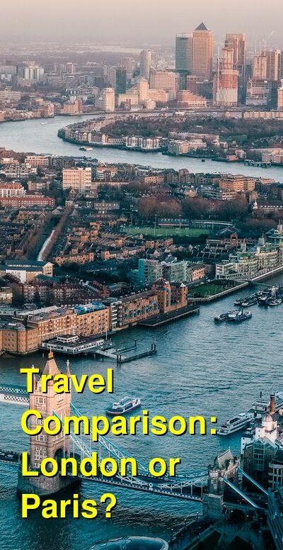 London vs. Paris Travel Comparison