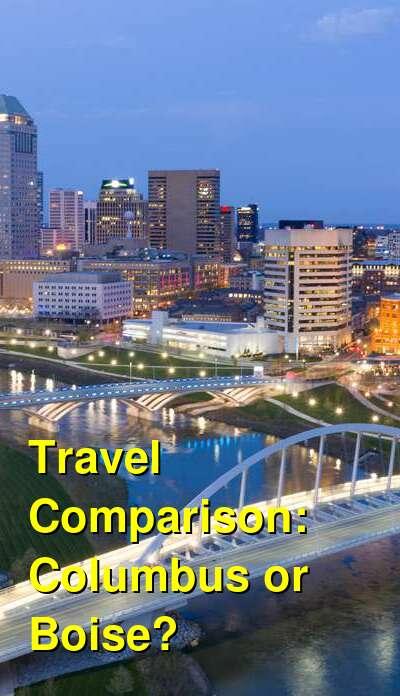 Columbus vs. Boise Travel Comparison