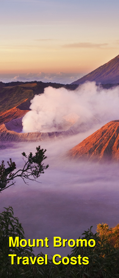 Mount Bromo Travel Cost - Average Price of a Vacation to Mount Bromo: Food & Meal Budget, Daily & Weekly Expenses | BudgetYourTrip.com