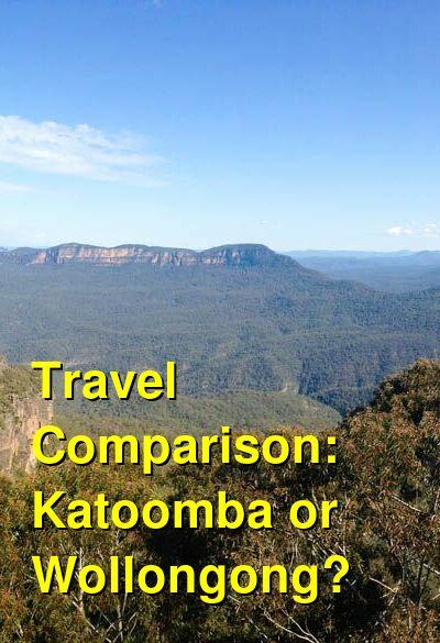 Katoomba vs. Wollongong Travel Comparison