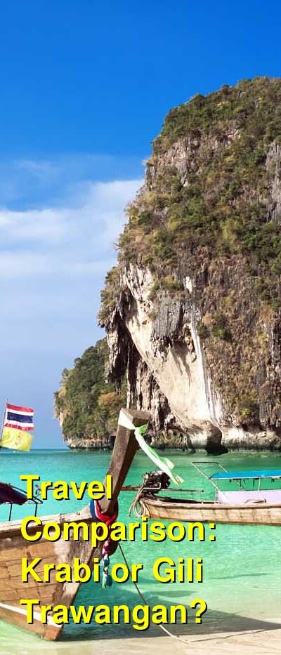 Krabi vs. Gili Trawangan Travel Comparison
