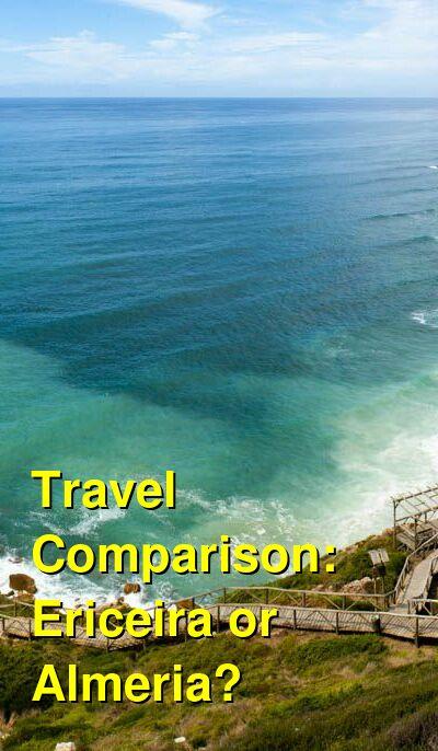 Ericeira vs. Almeria Travel Comparison