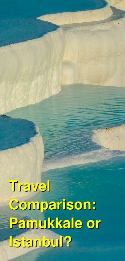 Pamukkale vs. Istanbul Travel Comparison