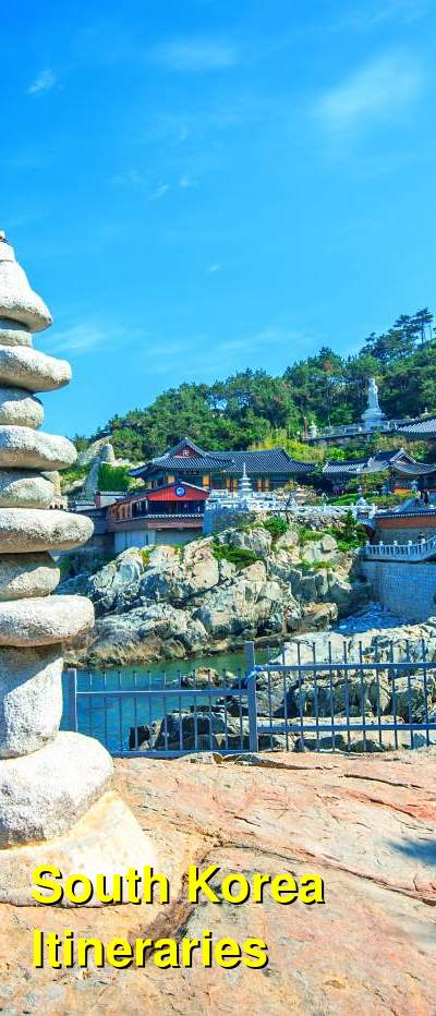 South Korea Suggested Itineraries | BudgetYourTrip.com