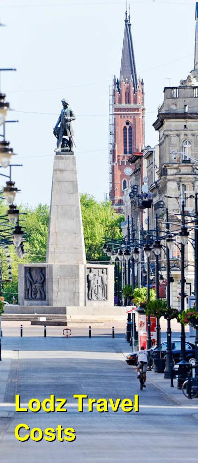 Lodz Travel Cost - Average Price of a Vacation to Lodz: Food & Meal Budget, Daily & Weekly Expenses | BudgetYourTrip.com