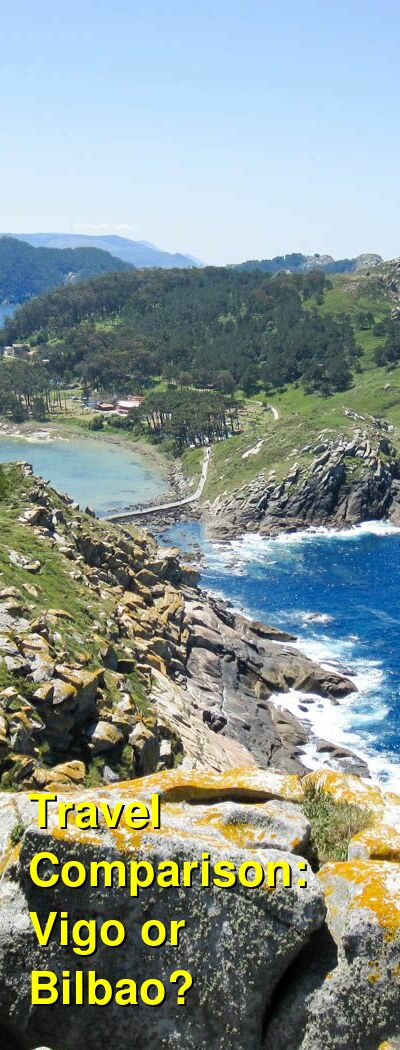 Vigo vs. Bilbao Travel Comparison