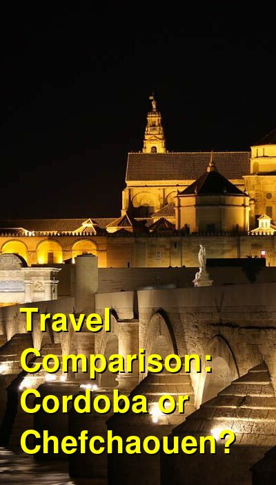 Cordoba vs. Chefchaouen Travel Comparison