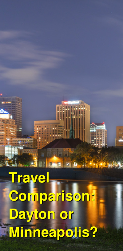 Dayton vs. Minneapolis Travel Comparison