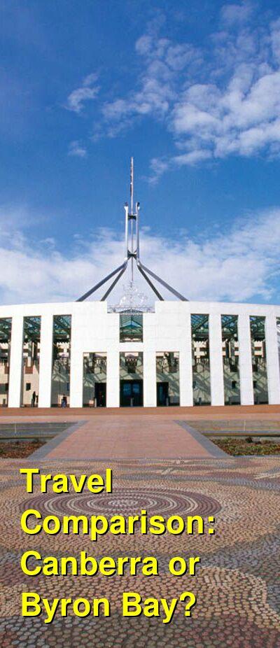 Canberra vs. Byron Bay Travel Comparison