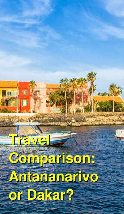 Antananarivo vs. Dakar Travel Comparison