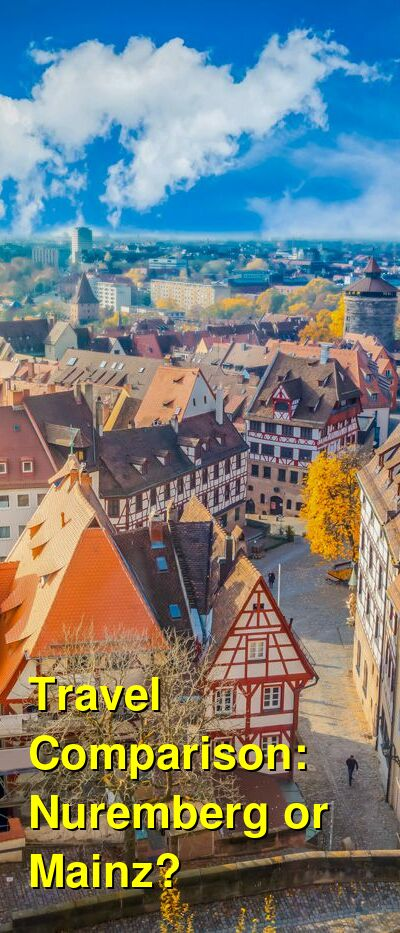 Nuremberg vs. Mainz Travel Comparison