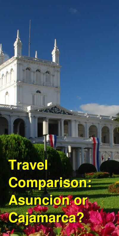 Asuncion vs. Cajamarca Travel Comparison