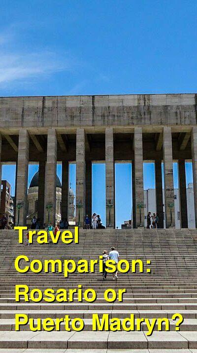 Rosario vs. Puerto Madryn Travel Comparison