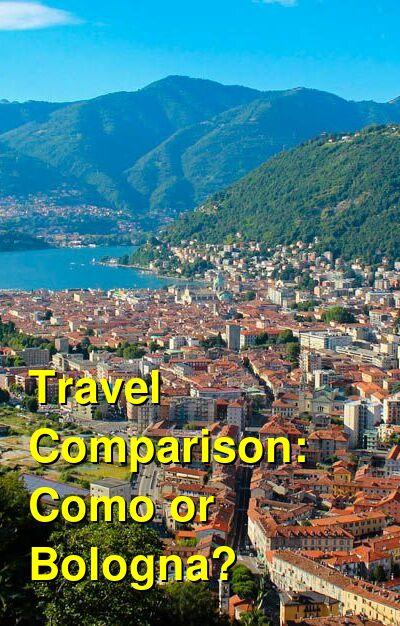 Como vs. Bologna Travel Comparison