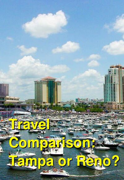 Tampa vs. Reno Travel Comparison