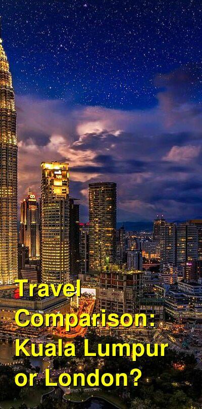 Kuala Lumpur vs. London Travel Comparison
