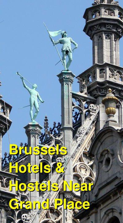 Brussels Hotels & Hostels Near Grand Place | Budget Your Trip