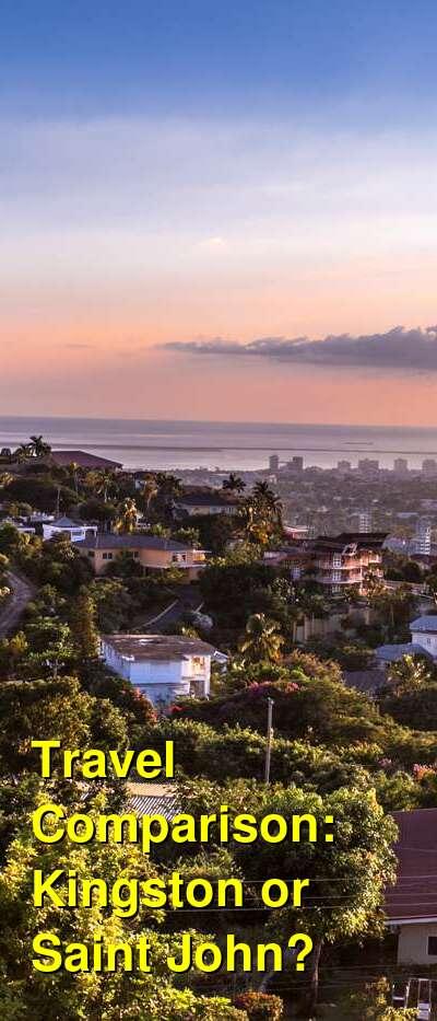 Kingston vs. Saint John Travel Comparison