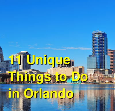11 Unique Things to Do in Orlando Other Than Disney | Budget Your Trip