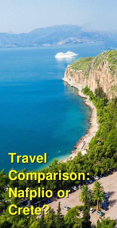 Nafplio vs. Crete Travel Comparison