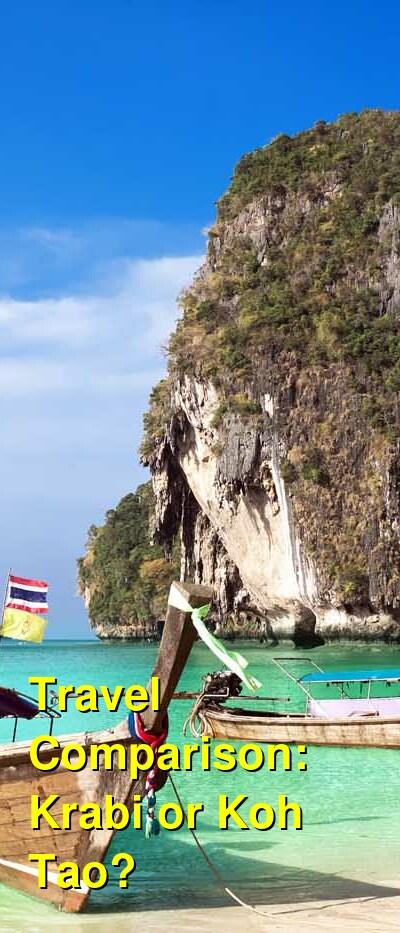 Krabi vs. Koh Tao Travel Comparison