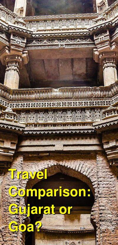 Gujarat vs. Goa Travel Comparison