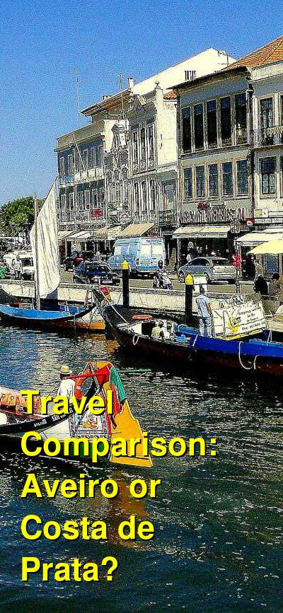 Aveiro vs. Costa de Prata Travel Comparison