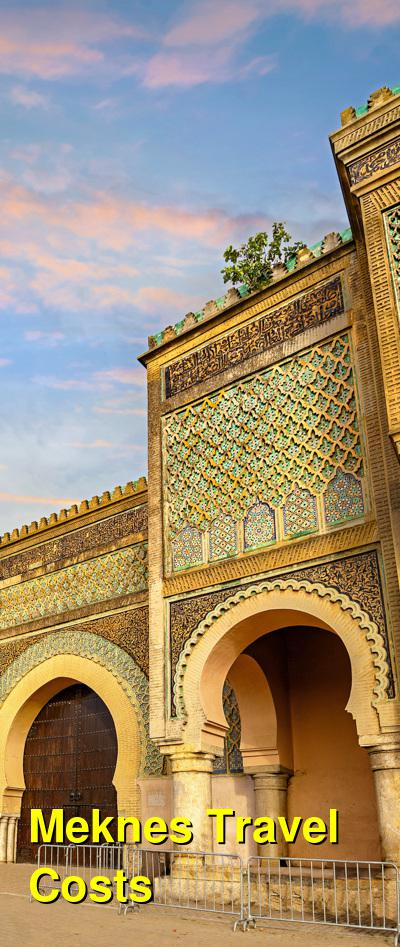 Meknes Travel Cost - Average Price of a Vacation to Meknes: Food & Meal Budget, Daily & Weekly Expenses | BudgetYourTrip.com
