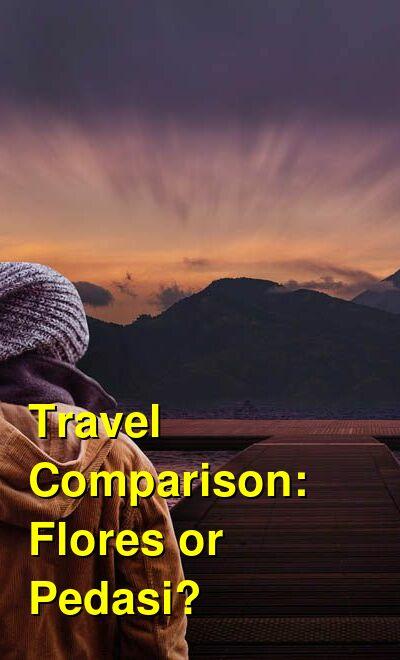 Flores vs. Pedasi Travel Comparison