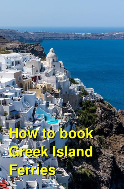 How to book Greek Island Ferries | Budget Your Trip