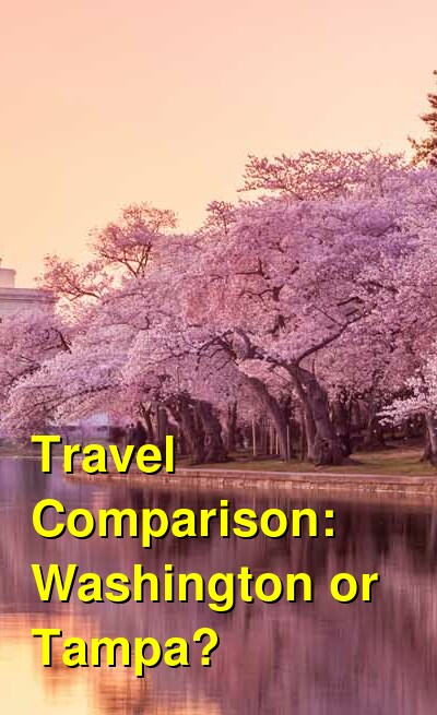 Washington vs. Tampa Travel Comparison