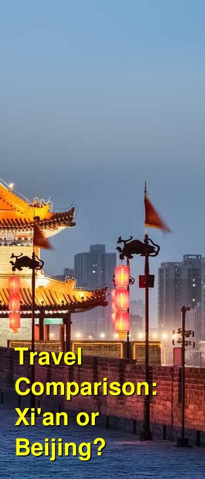 Xi'an vs. Beijing Travel Comparison