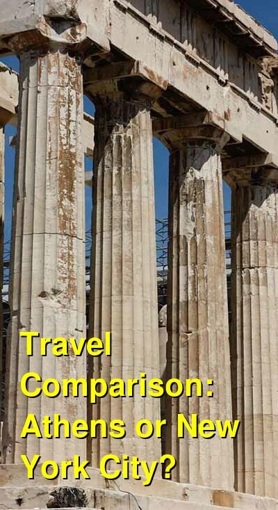 Athens vs. New York City Travel Comparison