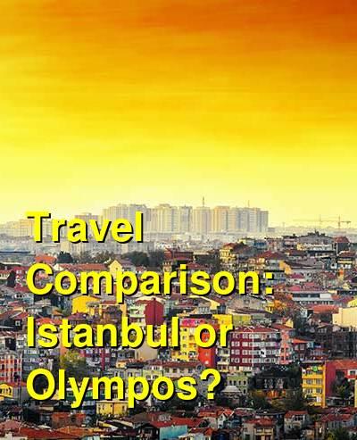 Istanbul vs. Olympos Travel Comparison
