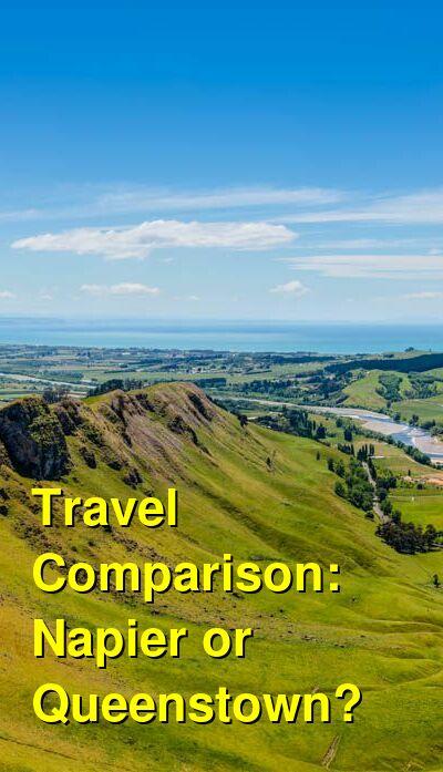 Napier vs. Queenstown Travel Comparison
