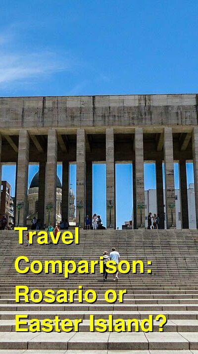 Rosario vs. Easter Island Travel Comparison