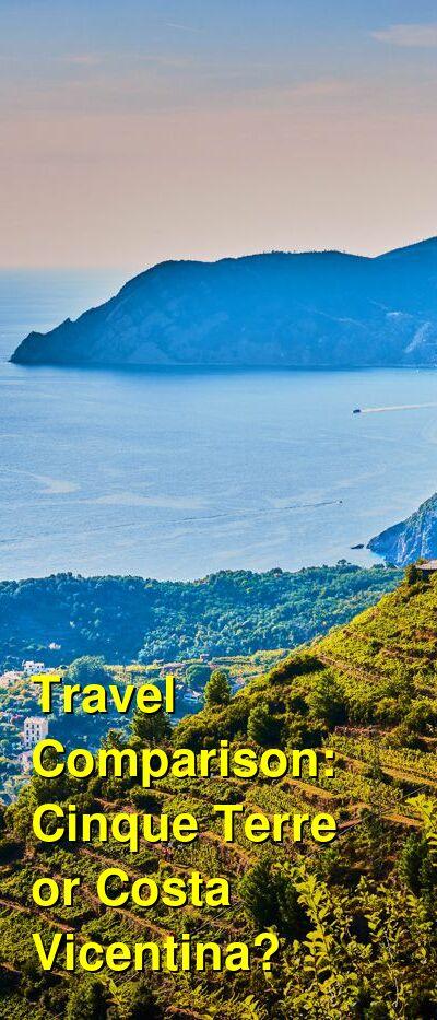 Cinque Terre vs. Costa Vicentina Travel Comparison