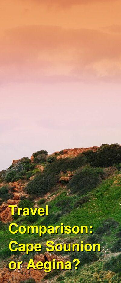 Cape Sounion vs. Aegina Travel Comparison