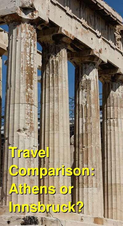 Athens vs. Innsbruck Travel Comparison