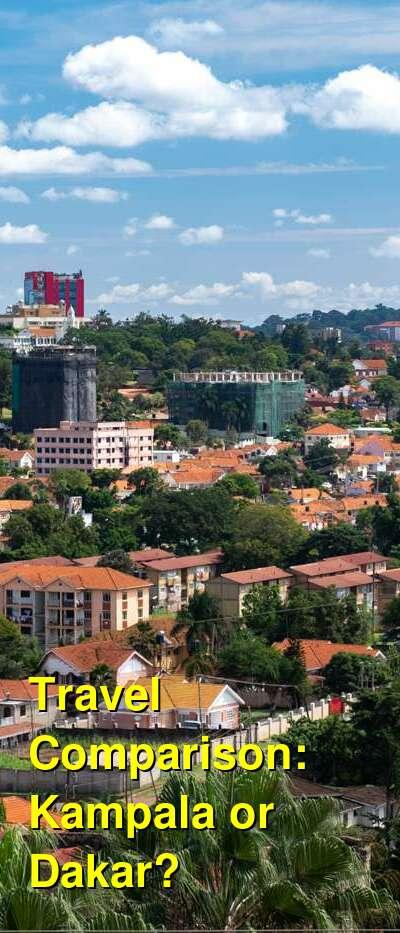 Kampala vs. Dakar Travel Comparison