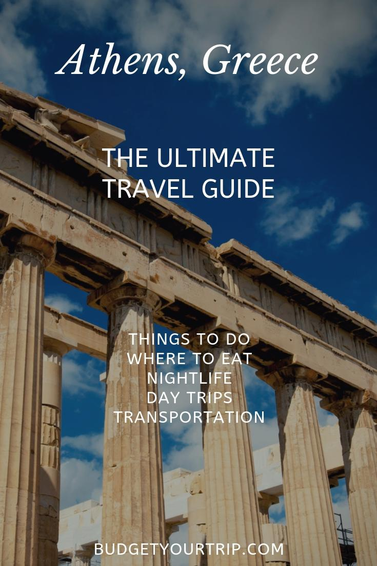 Athens Travel Guide: Things To Do and Where to Eat | Budget Your Trip