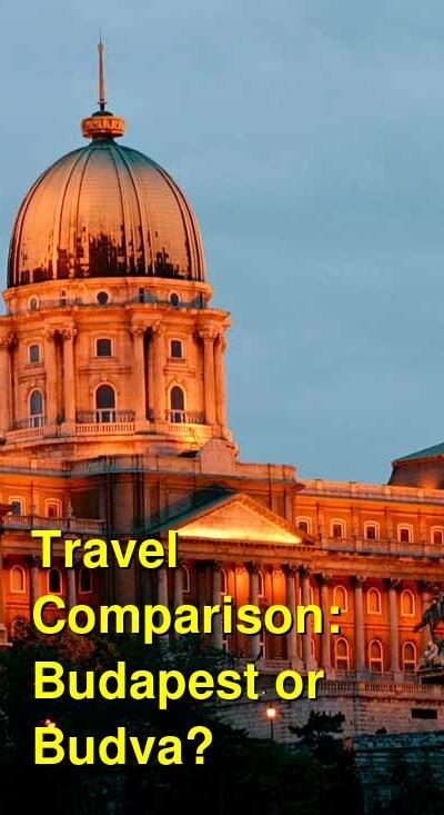Budapest vs. Budva Travel Comparison