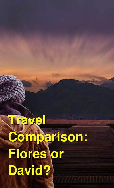 Flores vs. David Travel Comparison