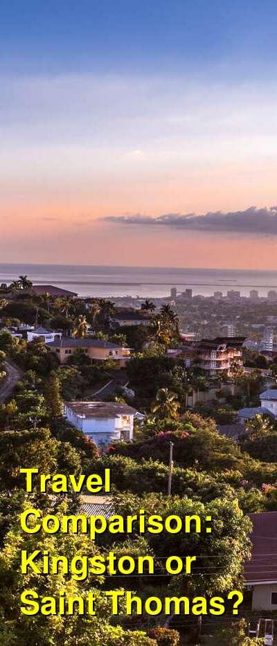 Kingston vs. Saint Thomas Travel Comparison