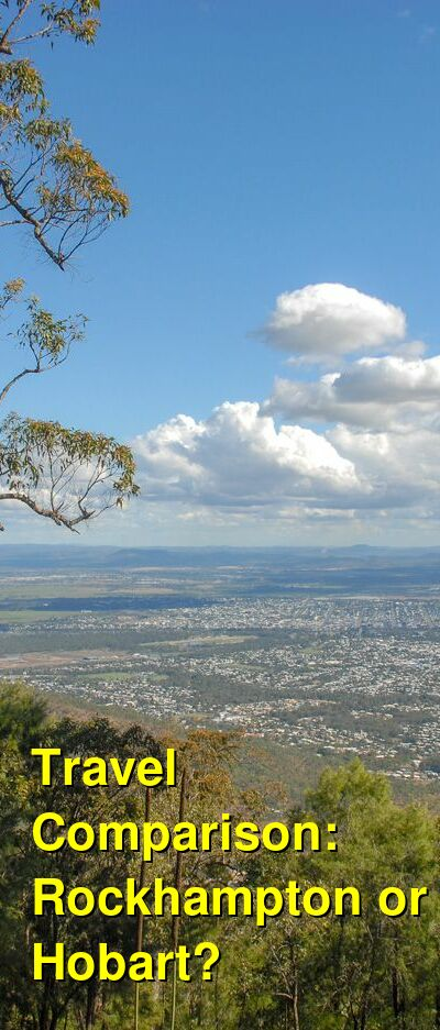Rockhampton vs. Hobart Travel Comparison