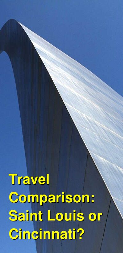 Saint Louis vs. Cincinnati Travel Comparison