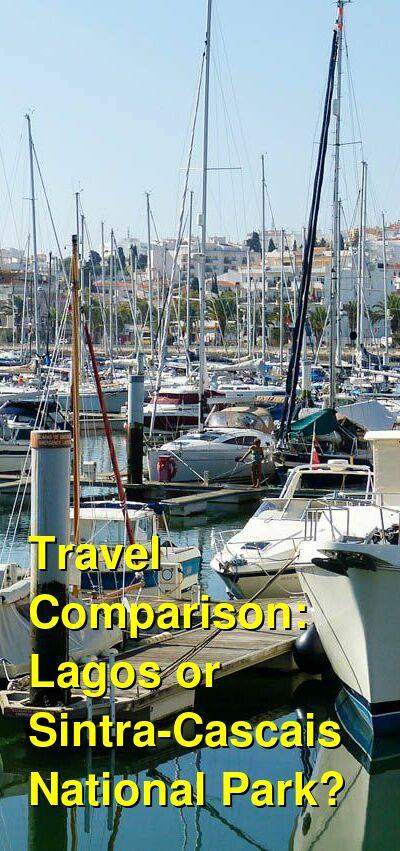 Lagos vs. Sintra-Cascais National Park Travel Comparison