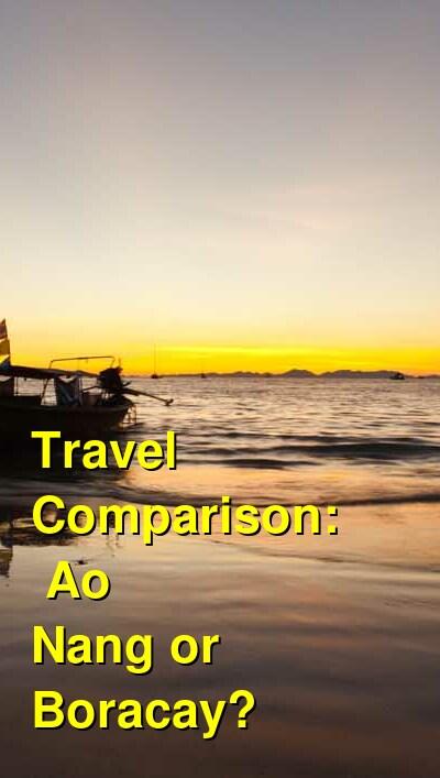 Ao Nang vs. Boracay Travel Comparison