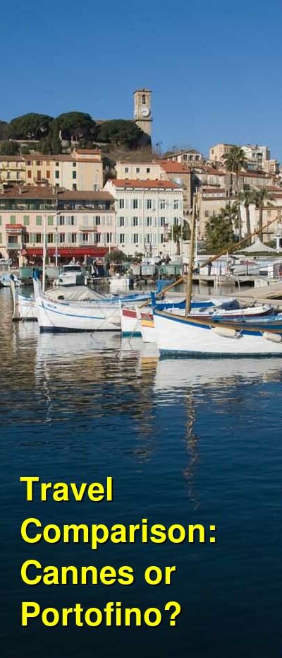 Cannes vs. Portofino Travel Comparison