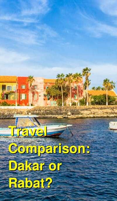 Dakar vs. Rabat Travel Comparison